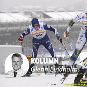 Martti Jylhä och Anssi Pentsinen åkte ur i kvartsfinalen i världscupsprinten i Lahtis.