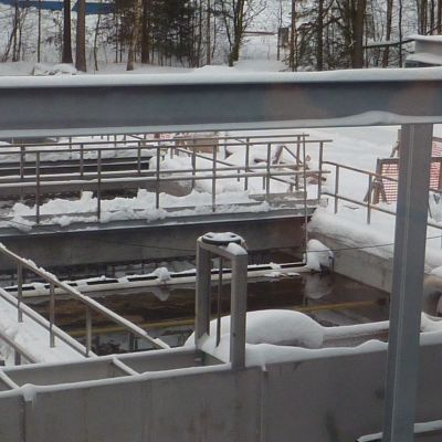 Stormossens reningsverk i Hangö