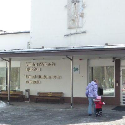 Västra Nylands sjukhus i Ekenäs
