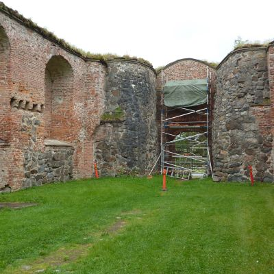 Ruinerna i Gamla Vasa.
