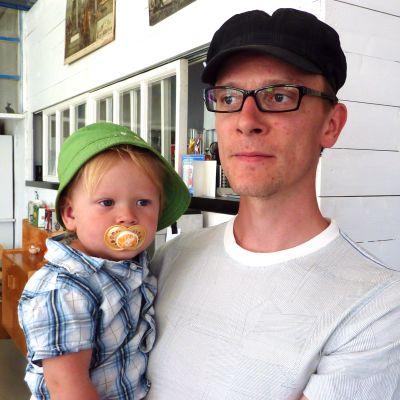 Jukka Rajala-Granstubb vid Malakta.