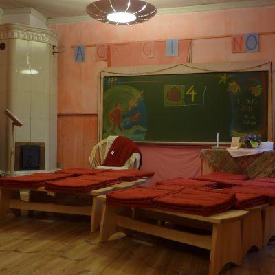 Klassrum på Mikaelskolan