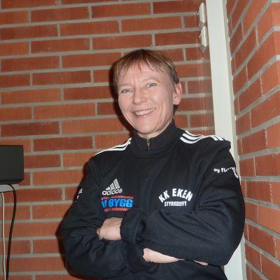 Raija Jurkko är styrkelyftare