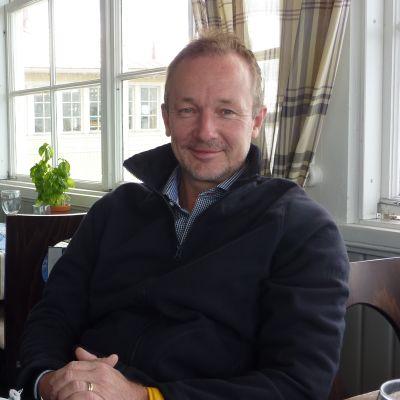 Krögare Christian Nyström på Knipan.
