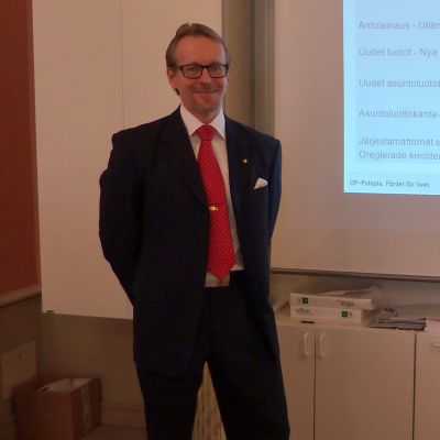 Vasa Andelsbanks vd Ulf Nylund
