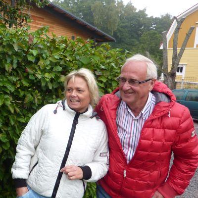 Väinö Järvilehto, Ilse Klockars och Peter Lindholm