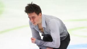 Roman Galay på isen