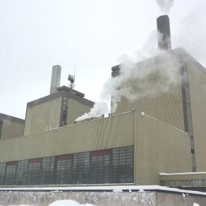 Fortums kolkraftverk i Ingå.