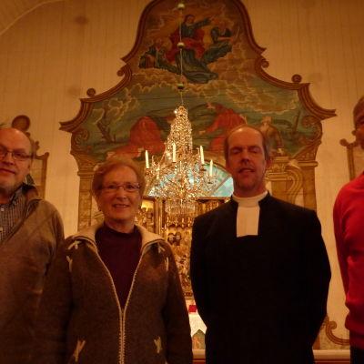 Kurt Söderberg, Margaretha Ehrman, Tomas Klemets och Ingvald Back
