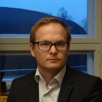 Kanslichef Jussi-Pekka Jutila i Hangö