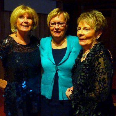 Ann-Louise Hanson, Ulla-Maj Wideroos och Towa Carson