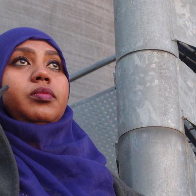 Nadifo Shador Ali kom till Finland som flykting men får inte sina barn hit.