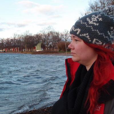 Sarah Söderholm i Raseborg är utan jobb.
