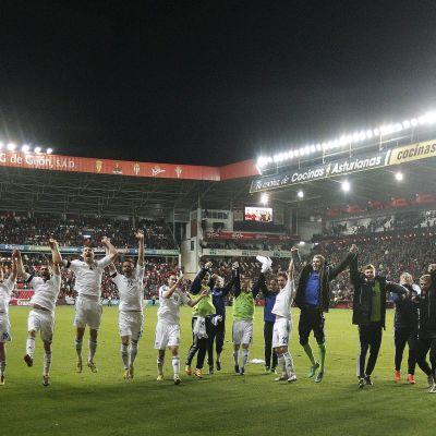 Finlands fotbollslands efter oavgjort i Spanien, 2013