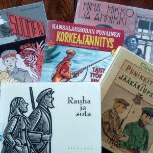 En handfull serier som tar fasta på inbördeskriget 1918.