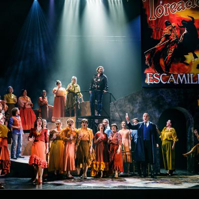Carmen-ooppera Vaasan kaupunginteatterissa