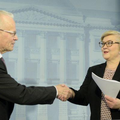 Lauri Tarasti och Anu Vehviläinen