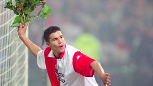 Robin van Persie under sin första säsong i Feyenoord.