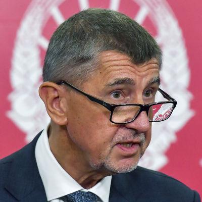 Tjeckiens premiärminister Andrej Babiš.