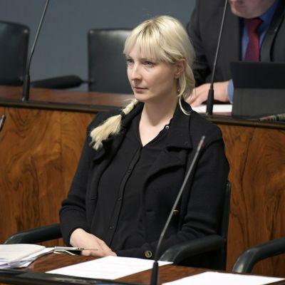 Kansanedustaja Laura Huhtasaari.