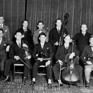 Radio-orkesteri ryhmäkuvassa 1927