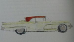 Lincoln Continental, 1959 (Illustration: Neil Young)