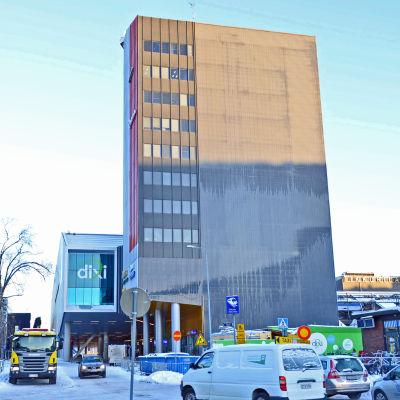 Det nya resecentret Dixi i Dickursby.