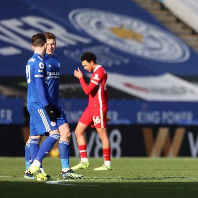 Liverpool pettyi, Leicester juhli