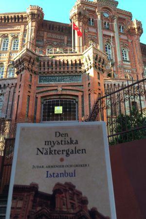 """Bokpärm som matchar """"Patriarkatat"""" i Istanbul"""