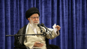 Irans högsta ledare Aytollah Ali Khamenei.
