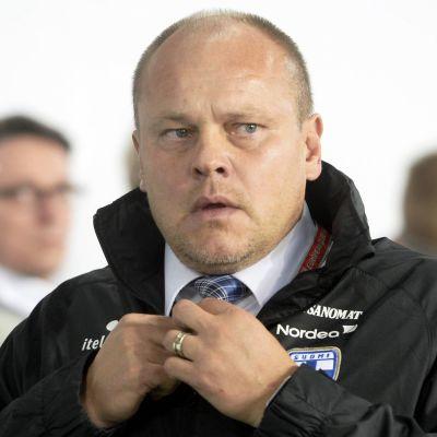 Mixu Paatelainen i förlustmatchen mot Ungern.