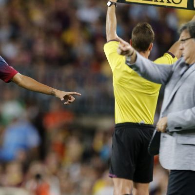 Neymar, Barcelona, juli 2013
