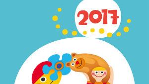 Seinäkalenteri 2017: kansilehti