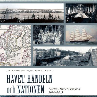 pärmbilden till boken Havet, handeln och nationen om släkten Donner i Finland
