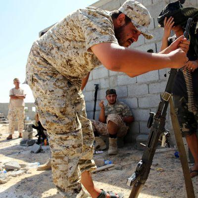 Tripolin hallituksen sotilas