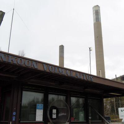 Inkoon hiilivoimalan purku-urakka on täysin omassa kokoluokassaan.