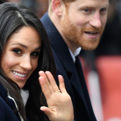 Prinssi Harry ja Meghan Markle.
