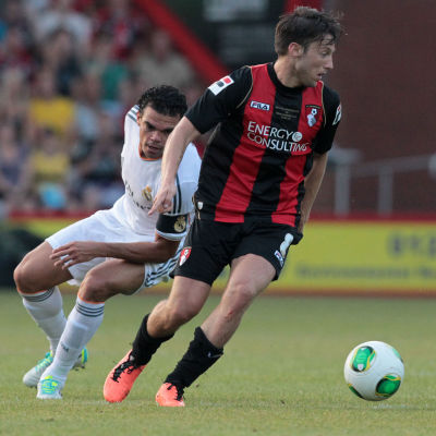 Bournemouth möter Real Madrid.