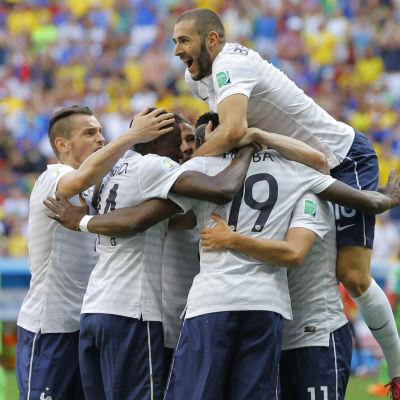 Frankrike mot Nigeria i VM 2014