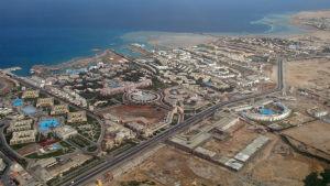 Hotell i Hurghada.