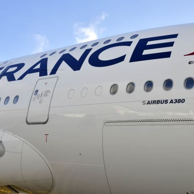 Air France airbus lentokone.