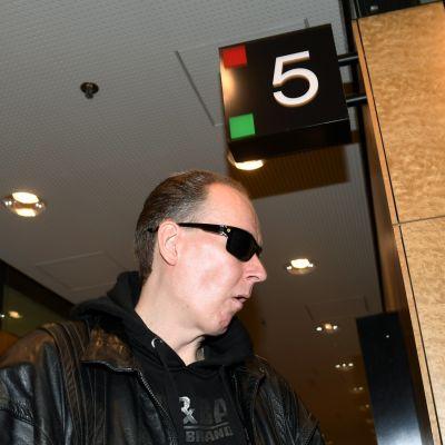Michael Penttilä i Helsingfors hovrätt i mars 2018