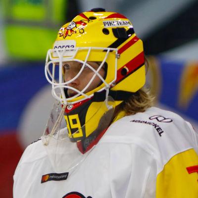 Anders Lindbäck i målet för Jokerit.