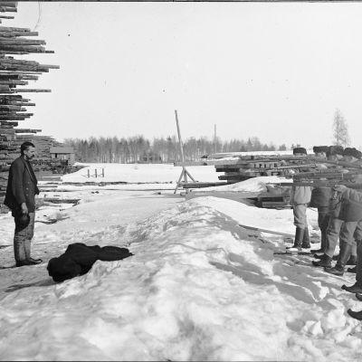 Varkaudessa teloitettiin reilut 200 punavankia.