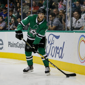 Miro Heiskanen i Dallas NHL-match.