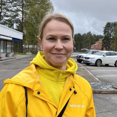 Johanna Keränen ei pidä koronan tuloa Hyrynsalmelle yllätyksenä.