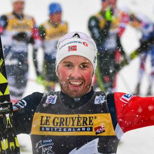 Emil Iversen är norsk längdåkare.