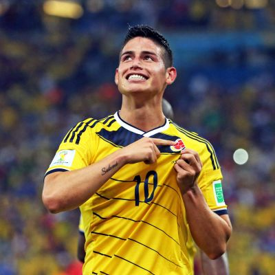 Kolumbian James Rodriguez.