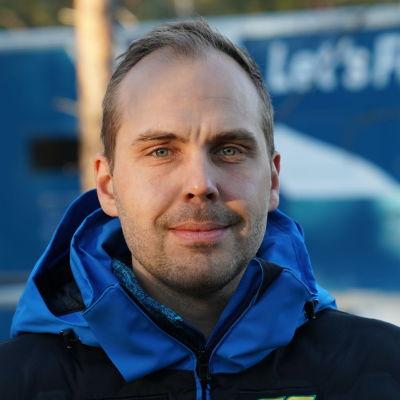 Martin Norrgård, huoltopäällikkö. PLK