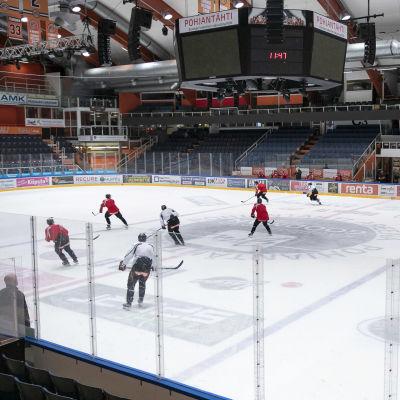 Pohjantähti-areena Hämeenlinnassa.